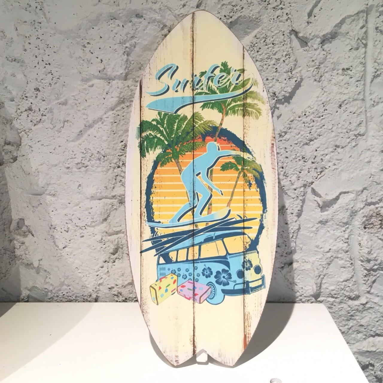 サーフボード[スタンド&ウォールプレート01【ハワイアンインテリア】