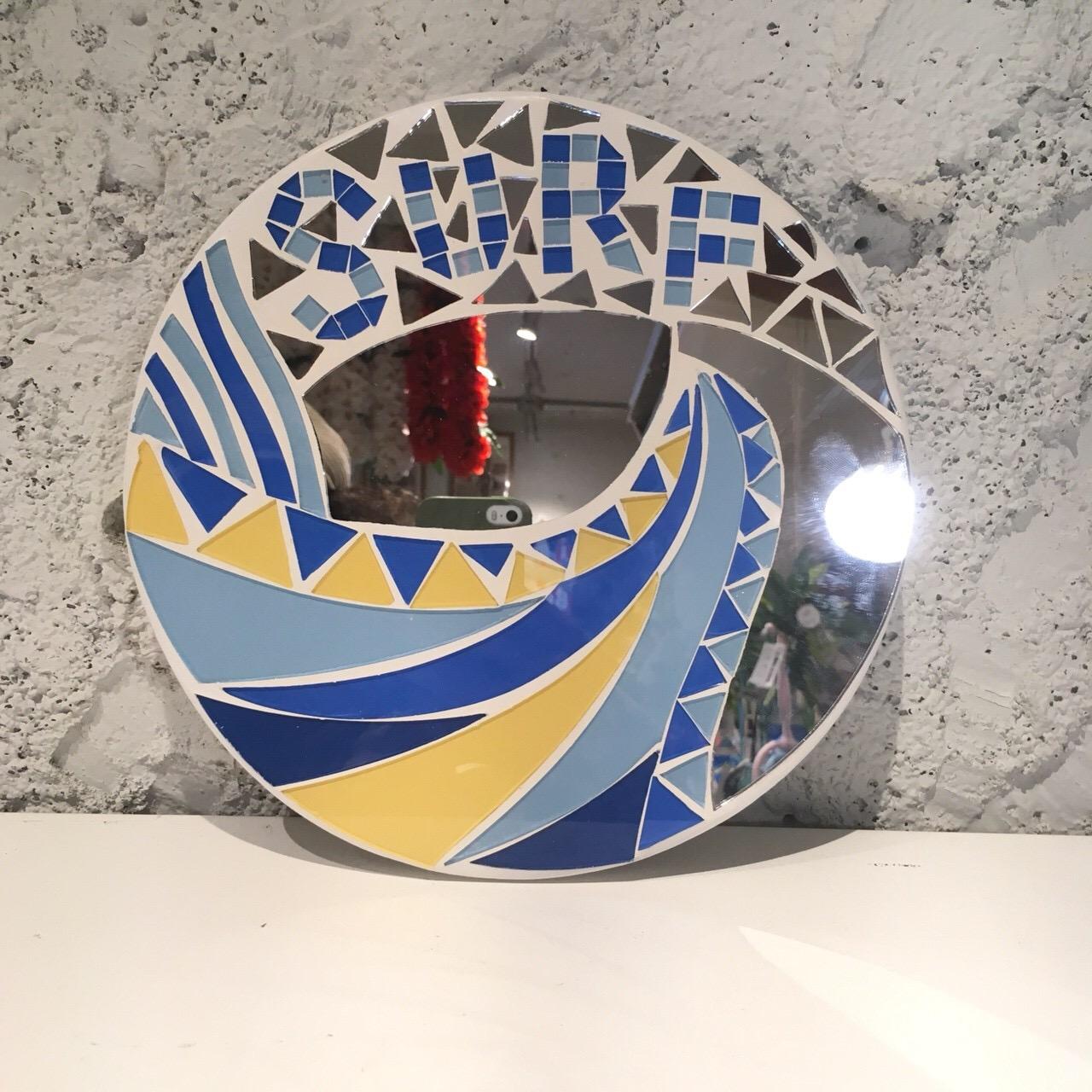 オーシャンミラーSURF【ハワイアン雑貨】