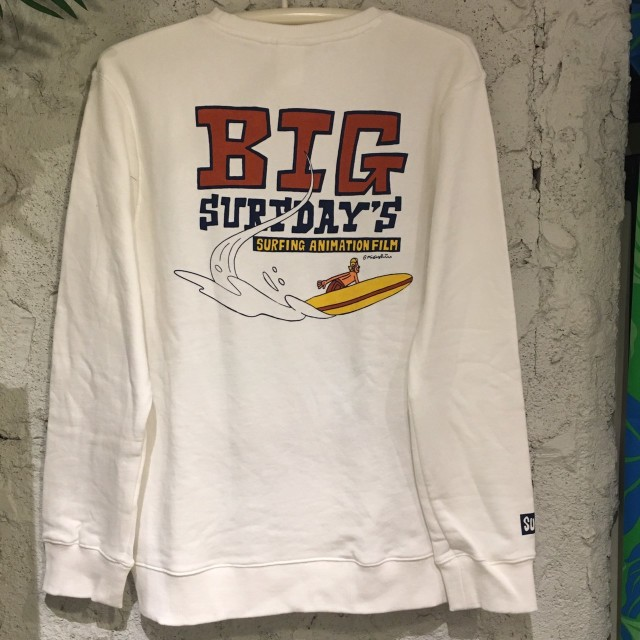 "SALE!!40%OFF【SURF DAY'S】メンズトレーナー""Big""/WH/"