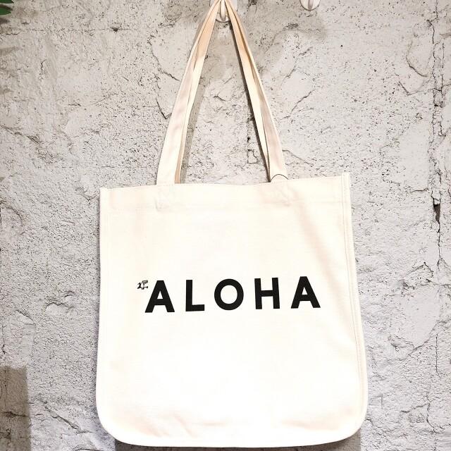 ハレイワキャンバストートバッグ/ハワイアン雑貨