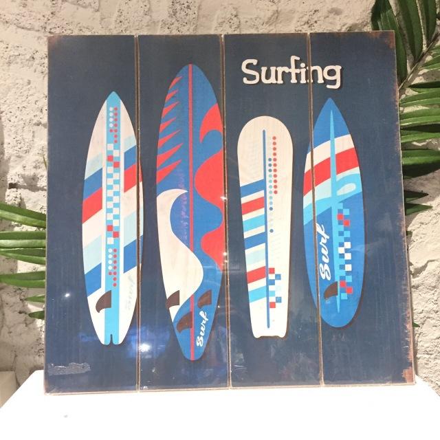 インテリアピクチャー/SURF BOARD★【ハワイアンインテリア】