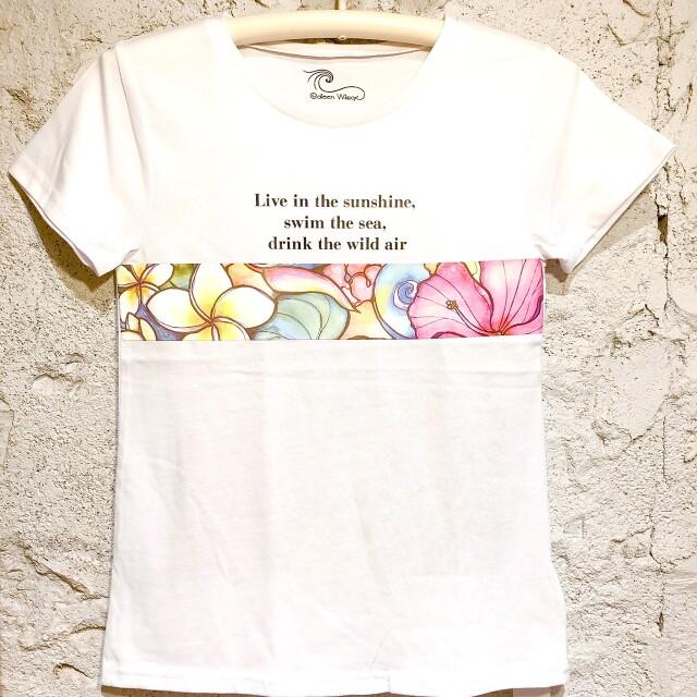 コリーンウィルコックス!WORDSTシャツレディース/F【アロハラバーズ】
