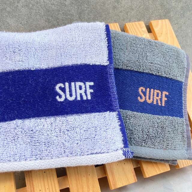 ハンドタオル/SURF【ハワイアン雑貨】
