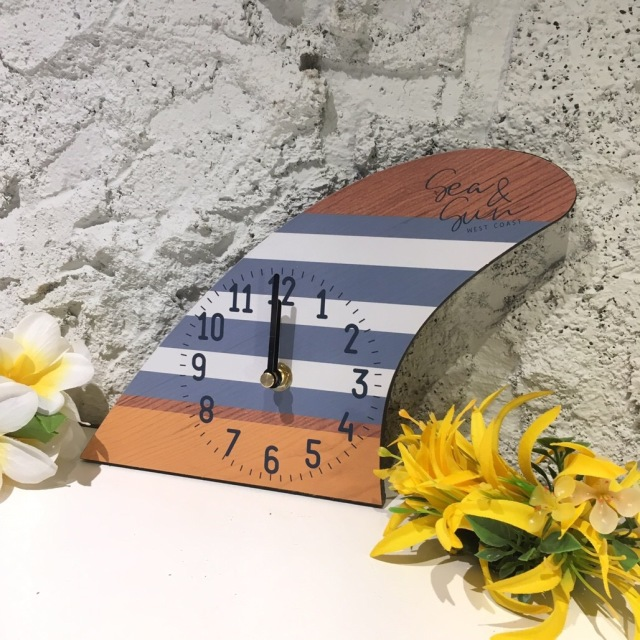 フィンデザイン時計【ハワイアン雑貨】