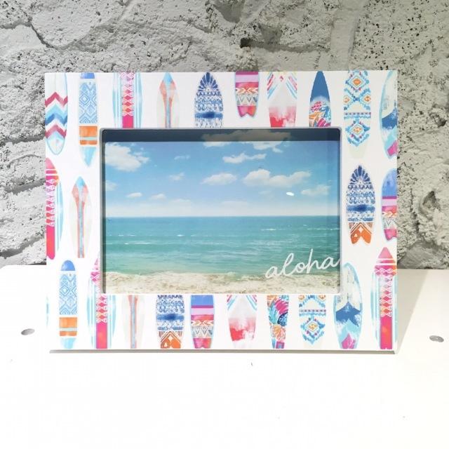 SURF BOARDフォトフレーム【ハワイアン雑貨