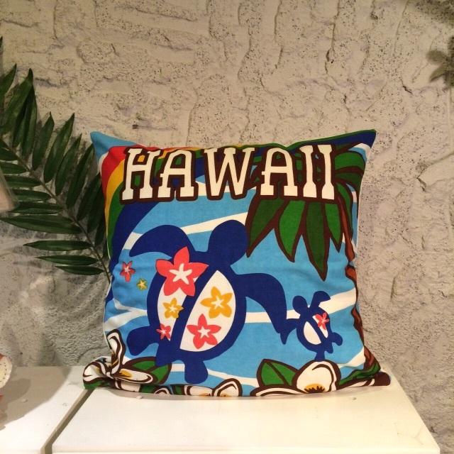 【HAPPY SALE!!】ハワイアンクッションカバーI