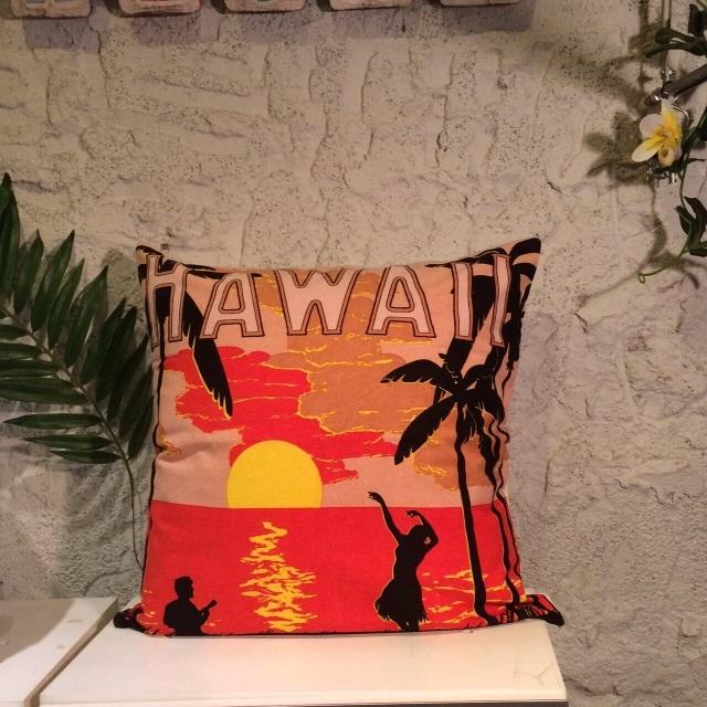 【HAPPY SALE!!】ハワイアンクッションカバーC
