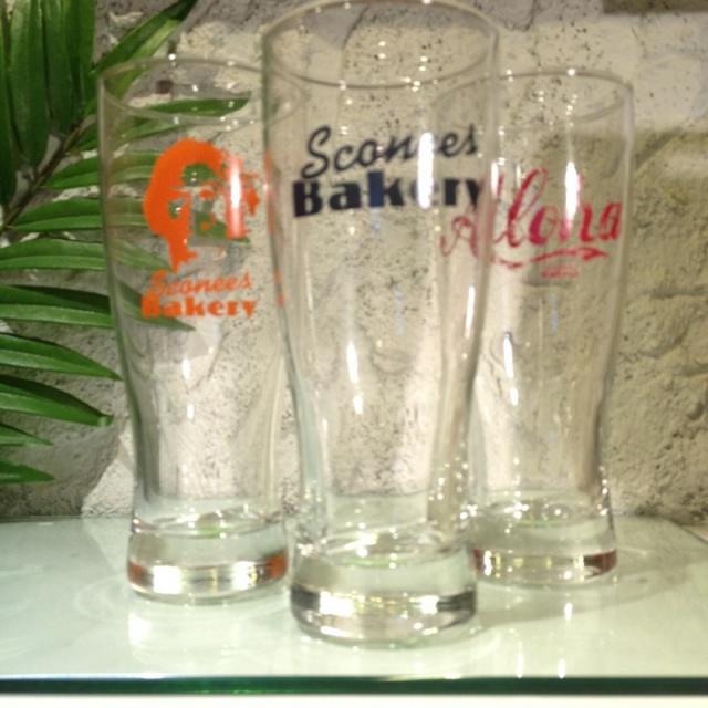 Sconees Bakery ロンググラス(3種類)