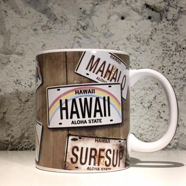 IHハワイアンマグHAWAIIプレート