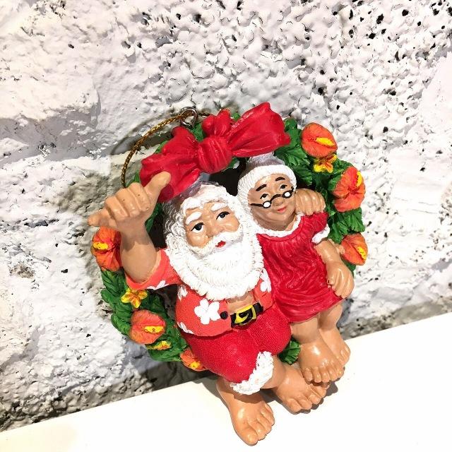 ハワイアンクリスマスオーナメント/Mr.&Mrs.crors