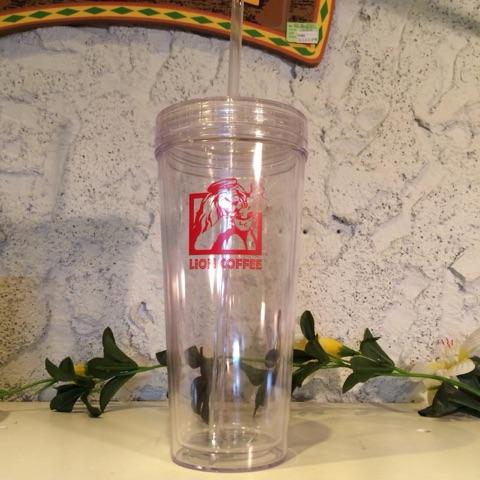 ライオンコーヒーオリジナル アイスタンブラー 24oz(720ml)