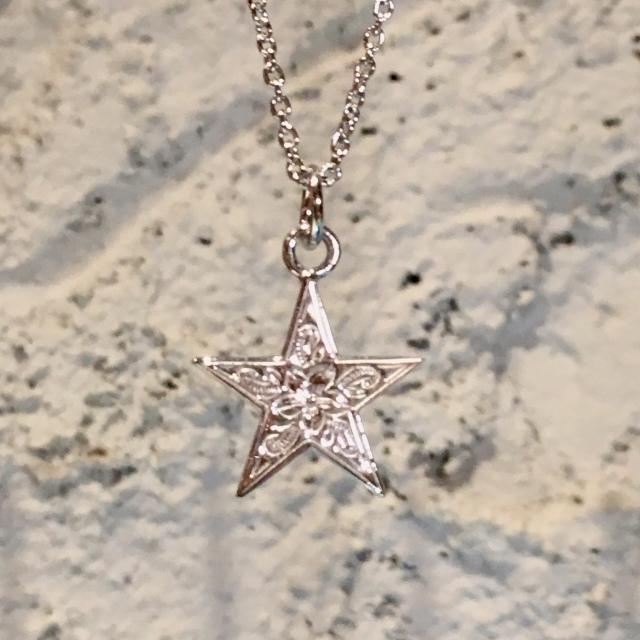 ■G HOKU(星)+50cmチェーンセットSVカラー