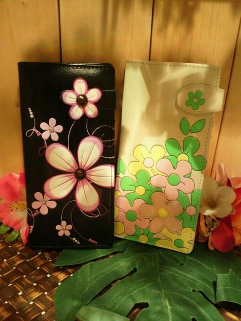 カラフルでトロピカル感たっぷりな長財布お花