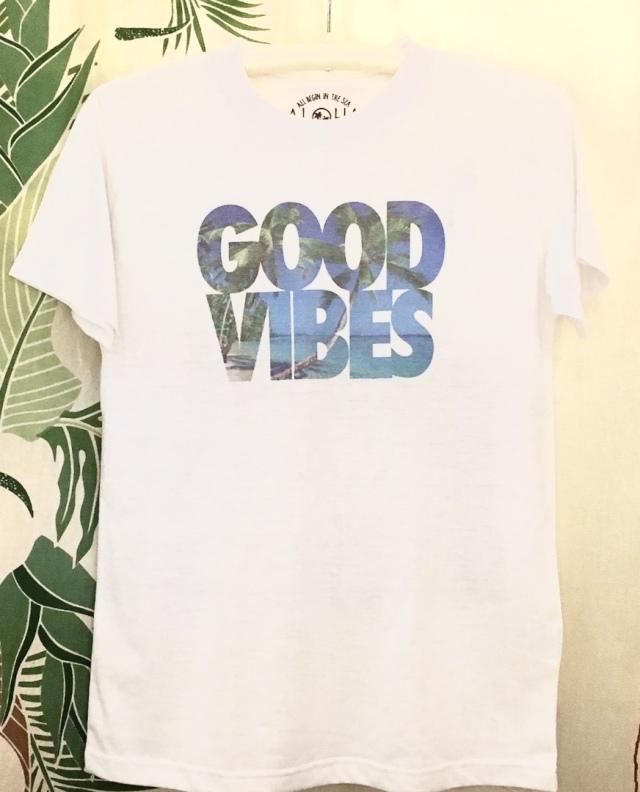メンズ 半袖 Tシャツ/GOOD VIBES