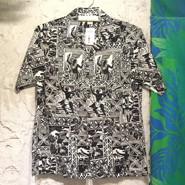 Mensアロハシャツ /HulaBK