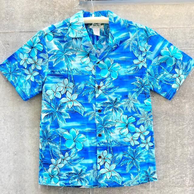 Mensアロハシャツ /Blue Hawaii/Blue