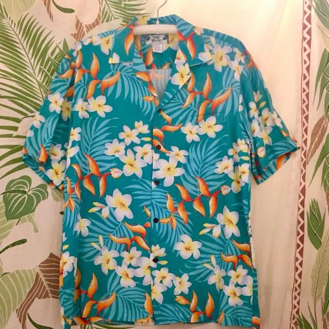 Mensアロハシャツ /バードオブバラダイスTQ/Mサイズ