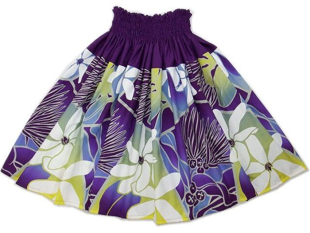 パウスカート フラダンススカート 画像