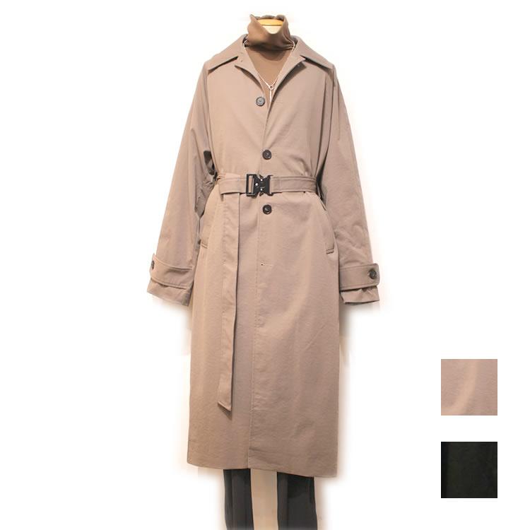 【再入荷】Cuirs(キュイー)メンズコート オリジナルロングマキシコート コブラベルト付き新作デザイン