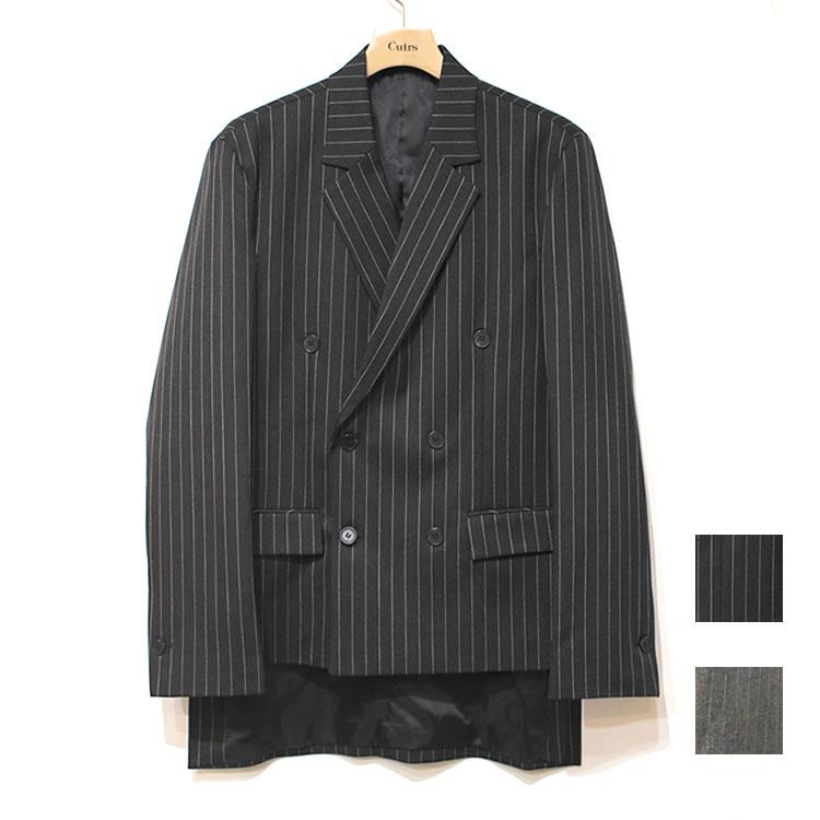 【新着】Cuirs(キュイー)メンズジャケット オリジナルダブルアンバランステールジャケット新作デザイン