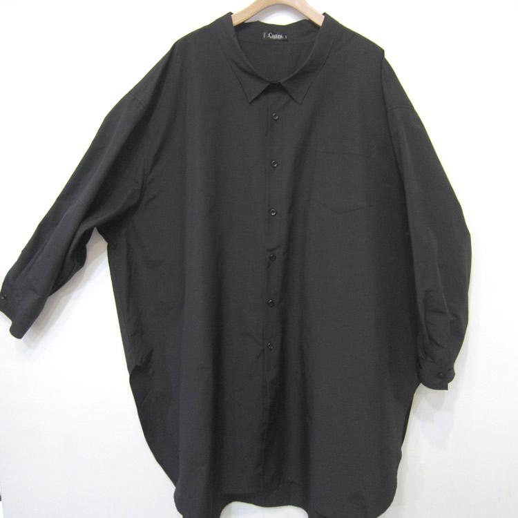 【新着】Cuirs(キュイー)メンズシャツ オリジナルロング丈シャツアウター新作デザイン