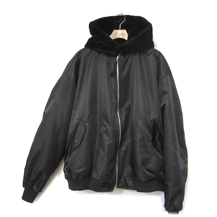 【セール】Cuirs(キュイー)メンズジャケット オリジナルリバーシブルナイロンファーブルゾン新作デザイン