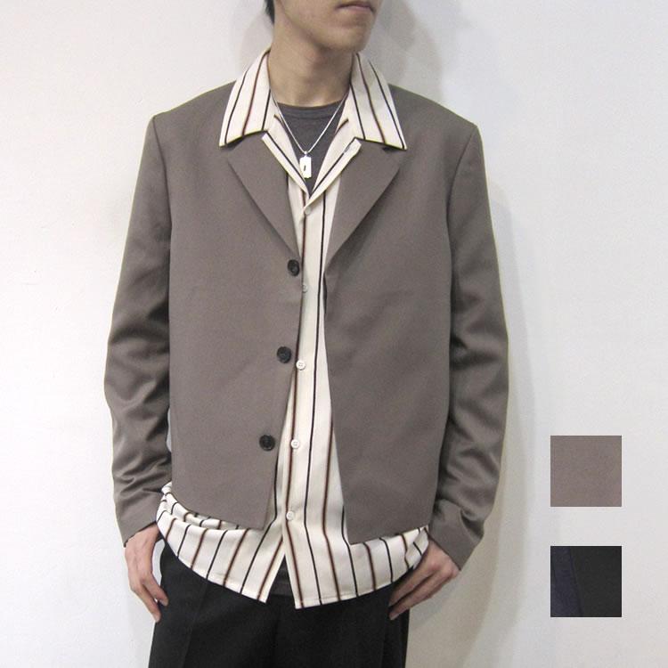 【新着】Cuirs(キュイー)メンズジャケット オリジナル比翼スペンサージャケット新作デザイン