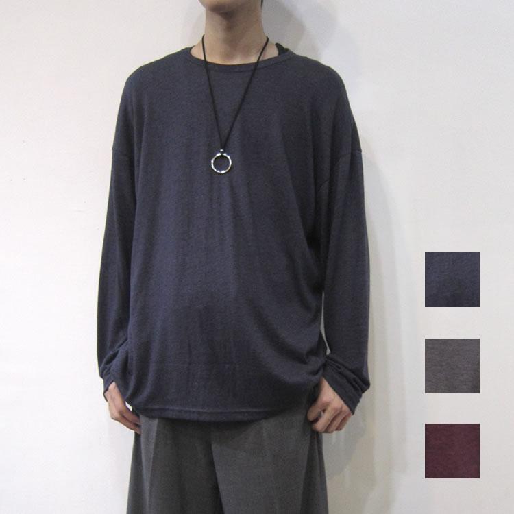 Cuirs(キュイー)メンズカットソー オリジナルニットオーバーロングTシャツ新作デザイン