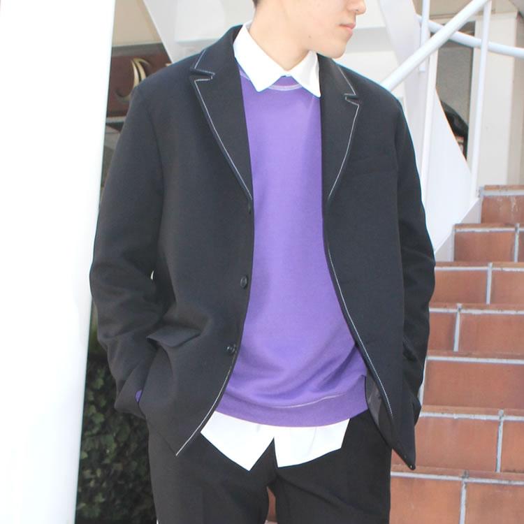 【新着】Cuirs(キュイー)メンズジャケット オリジナルセットアップステッチジャケット新作デザイン