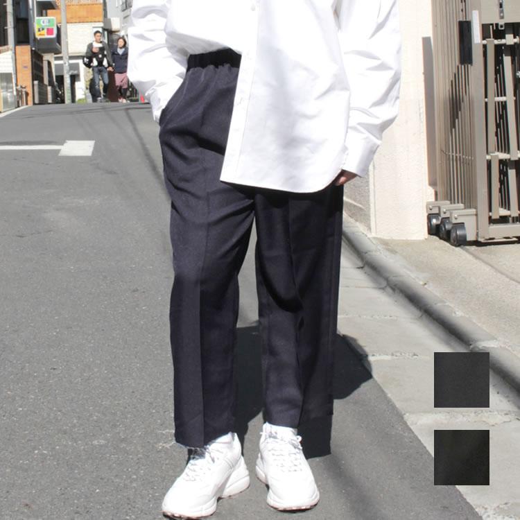 【新着】Cuirs(キュイー)メンズパンツ オリジナル9分丈イージーワイドパンツ新作デザイン