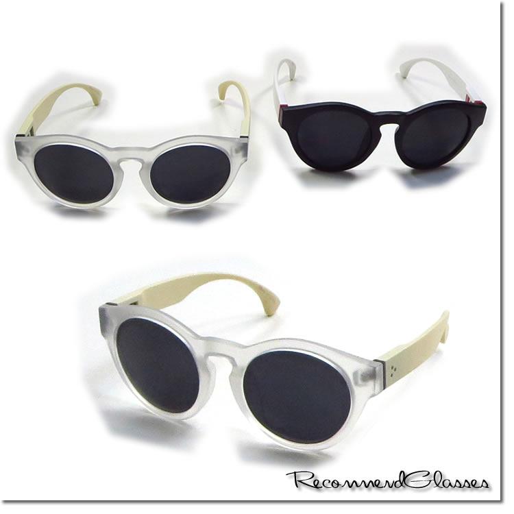 【SamuraiELO9月号8月号雑誌掲載】【新着】Cuirs(キュイー)メンズメガネ マット加工ラウンドサングラス新作デザイン
