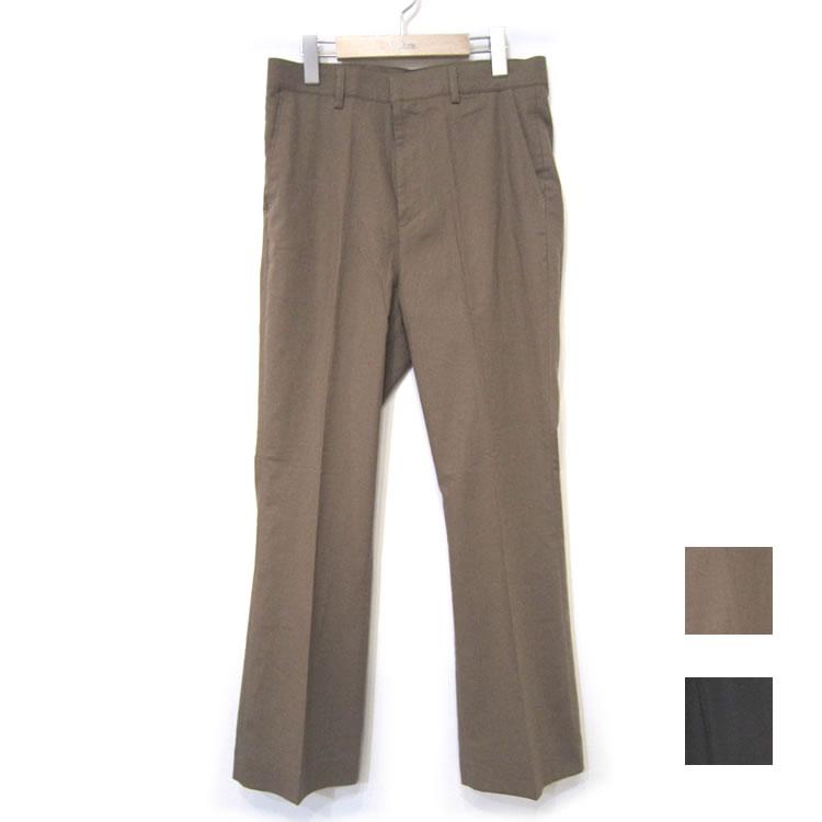 【新着】Cuirs(キュイー)メンズスラックス オリジナル綿麻セットアップフレアパンツ新作デザイン