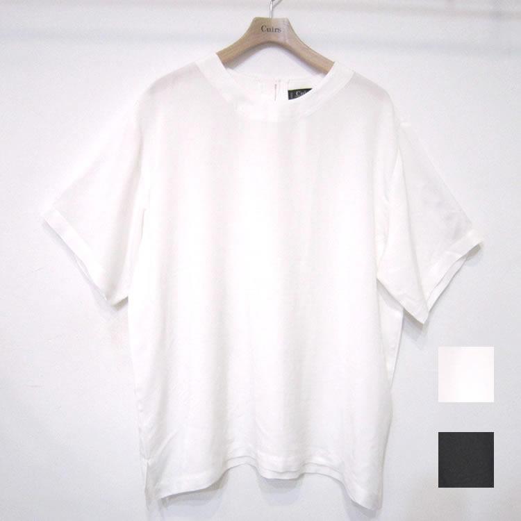 【新着】Cuirs(キュイー)メンズTシャツ オリジナルさらさらピーチスキンTシャツ新作デザイン