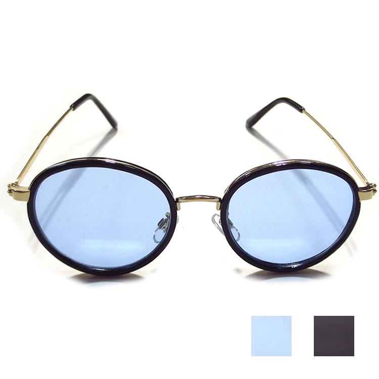 【BITTER10月号雑誌掲載】【新着】Cuirs(キュイー)メンズメガネ ゴールドフレームBOSTONカラーサングラス新作デザイン