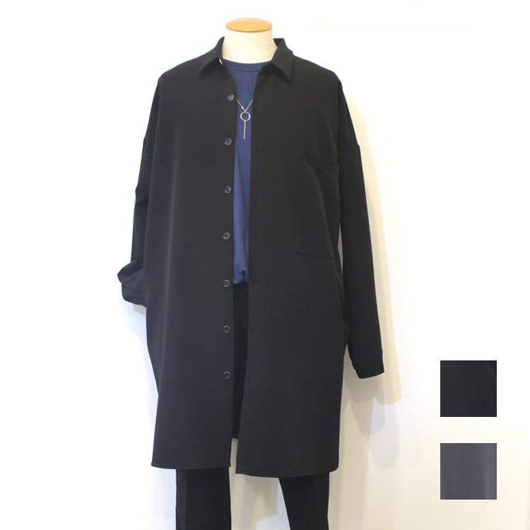 【新着】Cuirs(キュイー)メンズシャツ オリジナルロングシャツコート新作デザイン