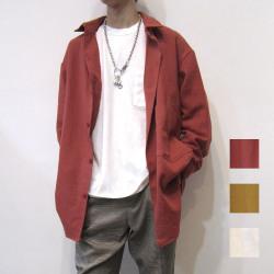 【新着】Cuirs(キュイー)メンズシャツ オリジナルビエラオーバーサイズシャツ新作デザイン