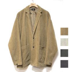 【セール】Cuirs(キュイー)メンズジャケット オーバーサイズコーヂュロイジャケット 新作デザイン
