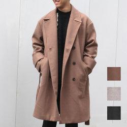 Cuirs(キュイー)メンズコート オリジナルオーバーサイズダブルウールコート新作デザイン
