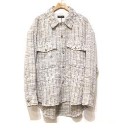 【新着】Cuirs(キュイー)メンズジャケット ホアキンツイードシャツジャケット 新作デザイン