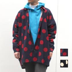 【新着】Cuirs(キュイー)メンズシャツ オリジナルドットビックシャツアウター新作デザイン