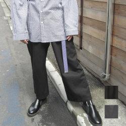 【新着】Cuirs(キュイー)メンズスラックス TRワイドパンツ新作デザイン