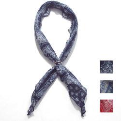 【新着】Cuirs(キュイー)メンズスカーフ リング付きスカーフバンダナ柄 新作デザイン