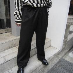【新着】Cuirs(キュイー)メンズスラックス オリジナルセットアップ光沢ワイドパンツ 新作デザイン