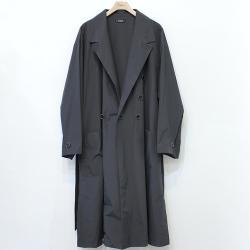 【新着】Cuirs(キュイー)メンズコート オリジナルベルデッドロングダブルコート新作デザイン