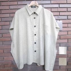 【再入荷】Cuirs(キュイー)メンズシャツ オリジナルガンクラブチェックノースリーブシャツ新作デザイン