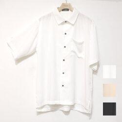 【新着】Cuirs(キュイー)メンズシャツ オリジナルソフトカラーセットアップサラサラシャツ新作デザイン