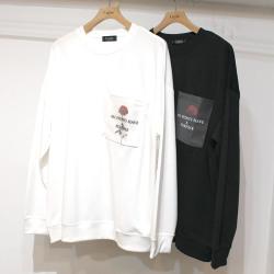 【新着】Cuirs(キュイー)メンズTシャツ オリジナルローズプリントTシャツ新作デザイン