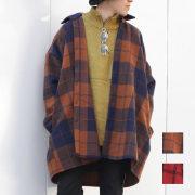 【新着】Cuirs(キュイー)メンズシャツ オリジナルチェックオーバーシャツアウター新作デザイン