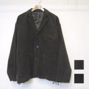 【新着】Cuirs(キュイー)メンズジャケット オリジナルコーデュロイスリーパッチセットアップジャケット新作デザイン