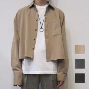 【新着】Cuirs(キュイー)メンズシャツ オリジナルTRショートボレロダブルカフスシャツ新作デザイン